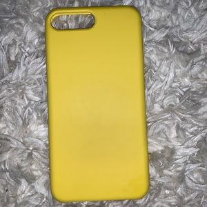 Accessories - IPHONE 6/6S/7/8 PLUS CASE YELLOW SILICONE